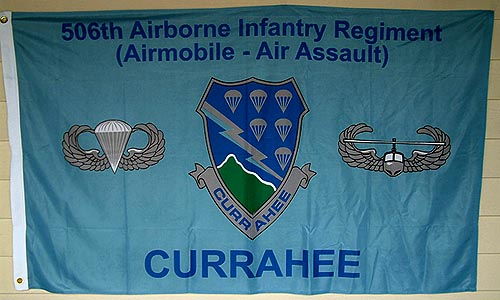 Currahee Flag 3ft x 5ft